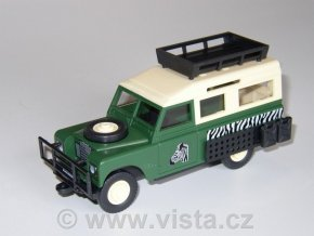 Land Rover Safari tourist