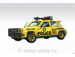 Renault R5 POLICE Sheriff