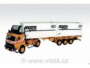 LIAZ kontejnerový návěs Monti System