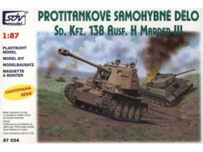 Stíhač tanků SdKfz.138 Ausf.H Marder III
