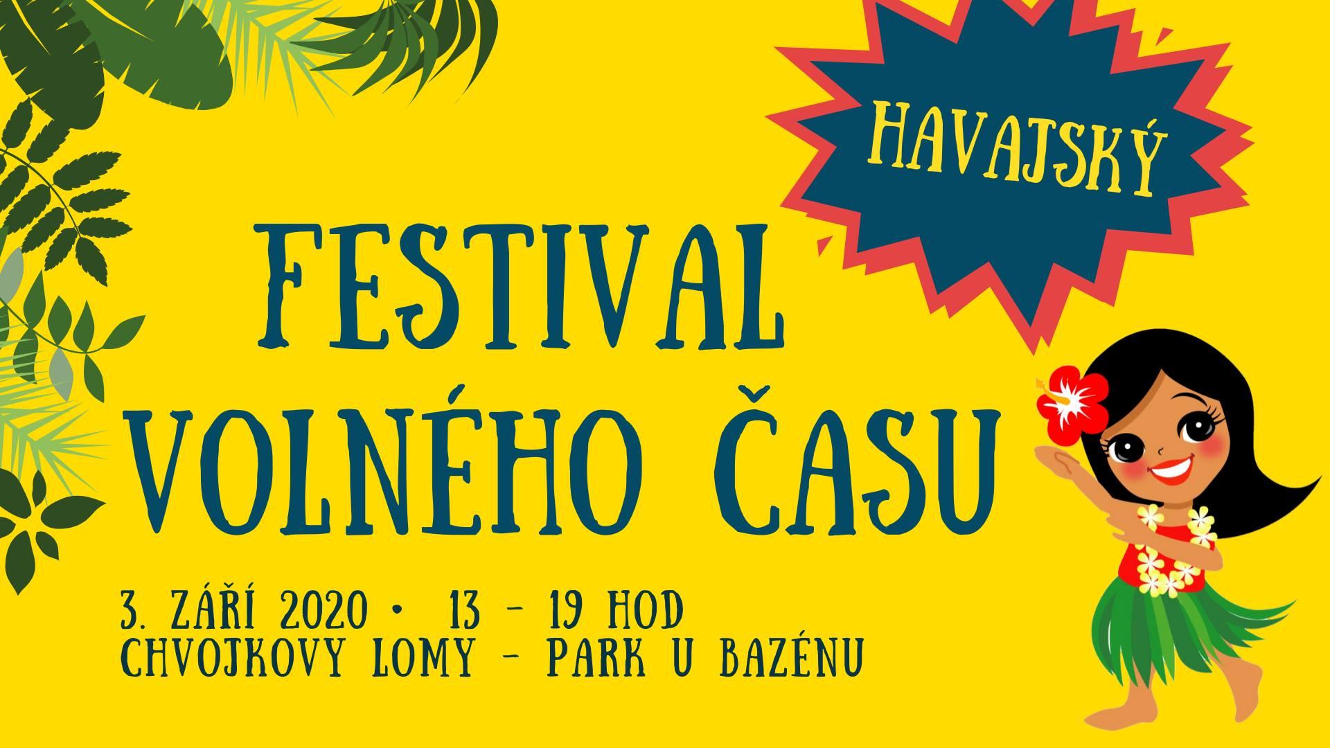 Festival volného času 2020 - spouštíme přihlašování