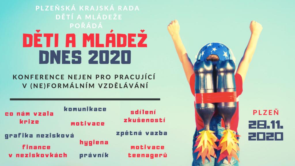 Konference: děti a mládež dnes 2020 - přesouváme na duben 2021