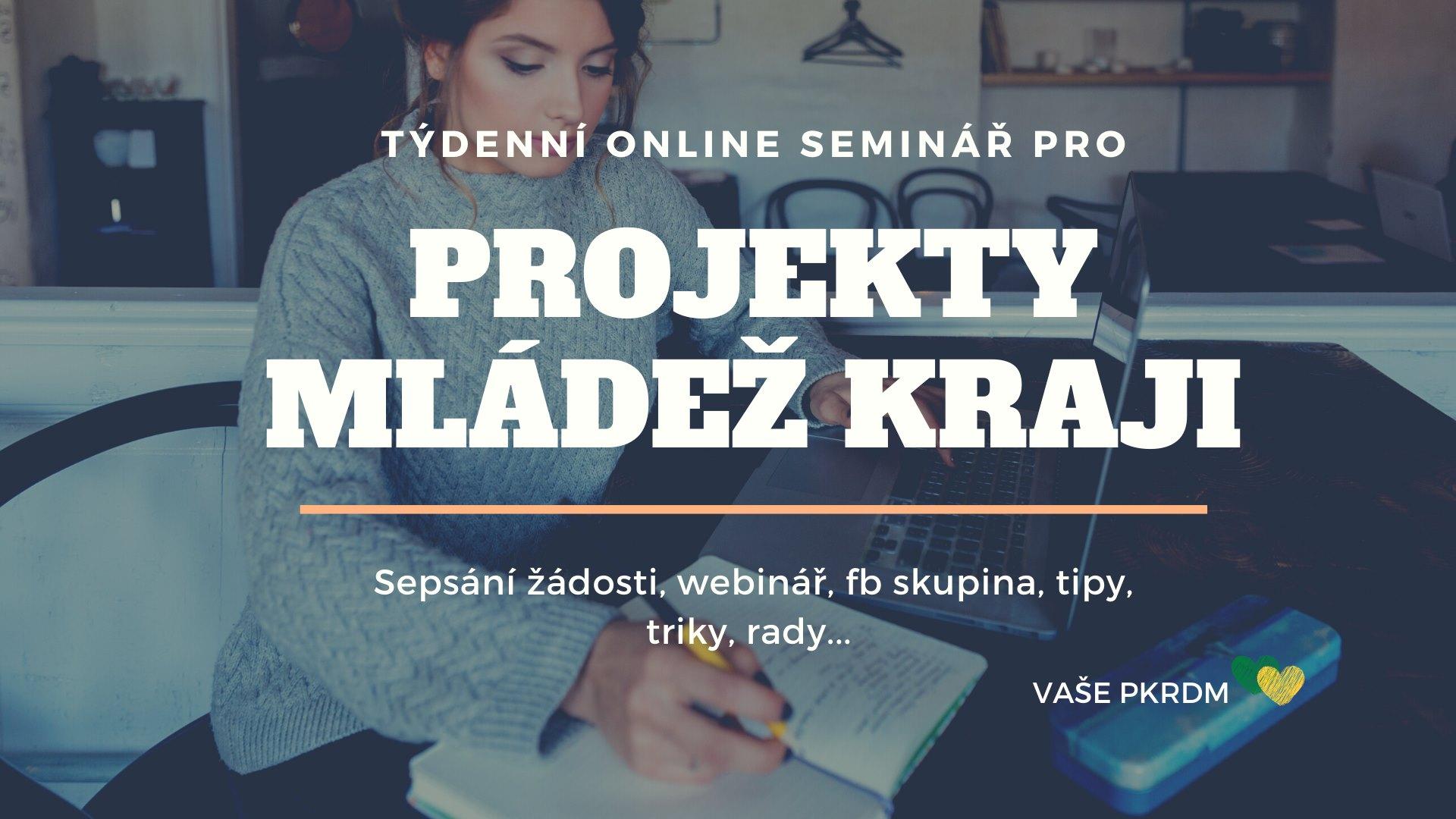 Týdenní online seminář - Mládež kraji