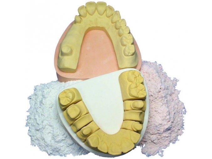 sockelgips dentální sádra 1