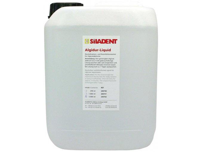Algidur liquid neutralizace, dezinfekce otisků 5l