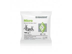 Micro zatmelovací hmota