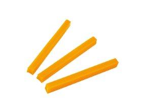 voskové valy žluté