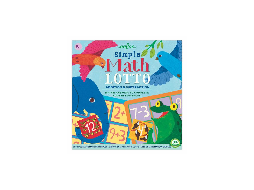 EB SMTLO Loto Jednoduchá matematika