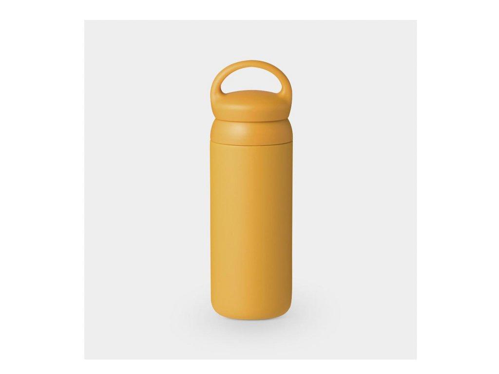 mestska kola tokyobike lahev na kolo termoska japonska kinto kafe tumbler day off zluta mustard