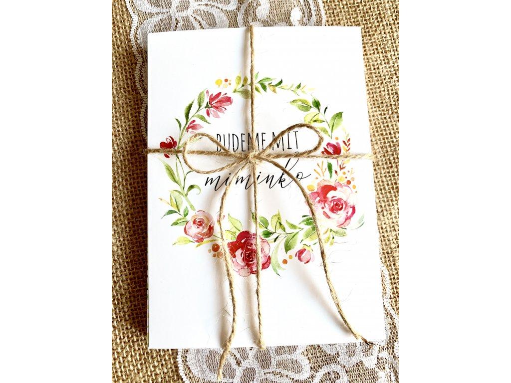 Milníkové kartičky - Štěstí těhu