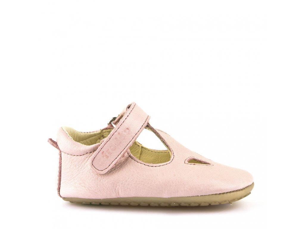 FRODDO Prewalkers Pink - sandálky