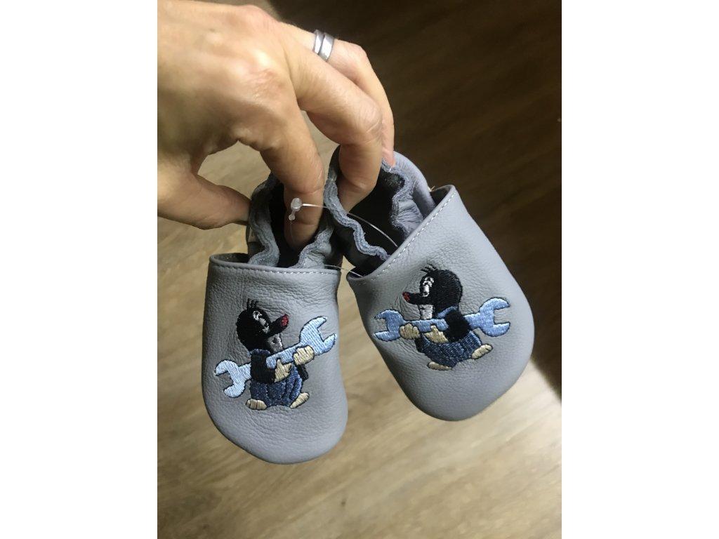 Capáčky baBice Grey wrench mole