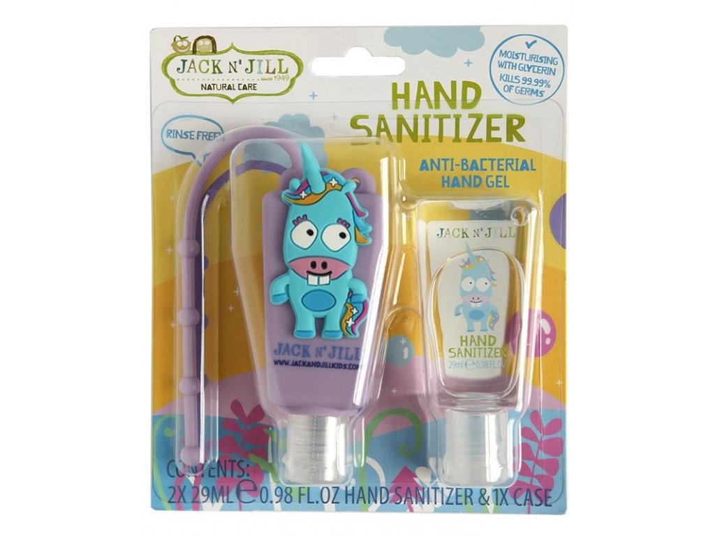 Antibakteriální gel na ruce pro děti JEDNOROŽEC