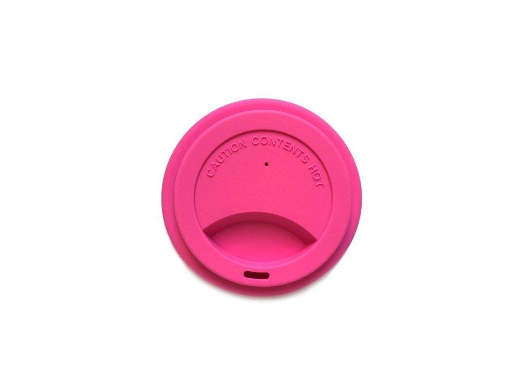 Silikonové víčko růžové