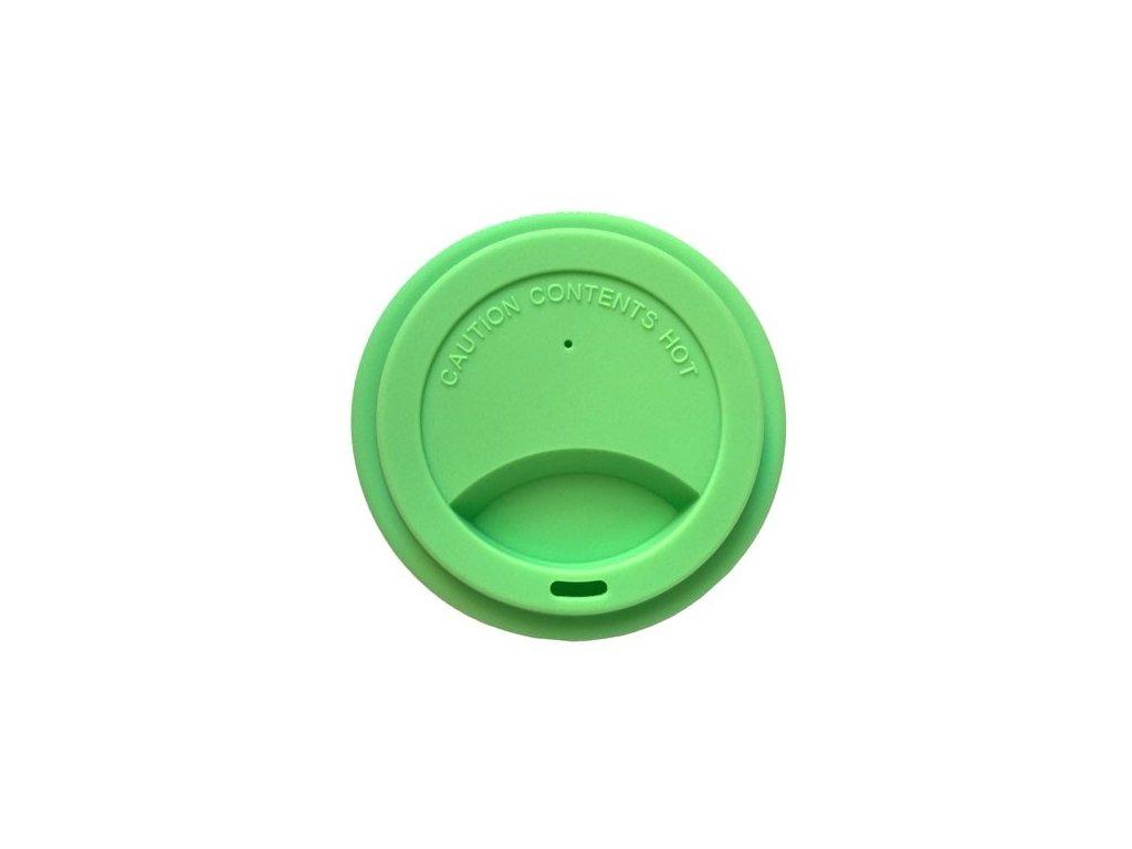 Silikonové víčko zelené