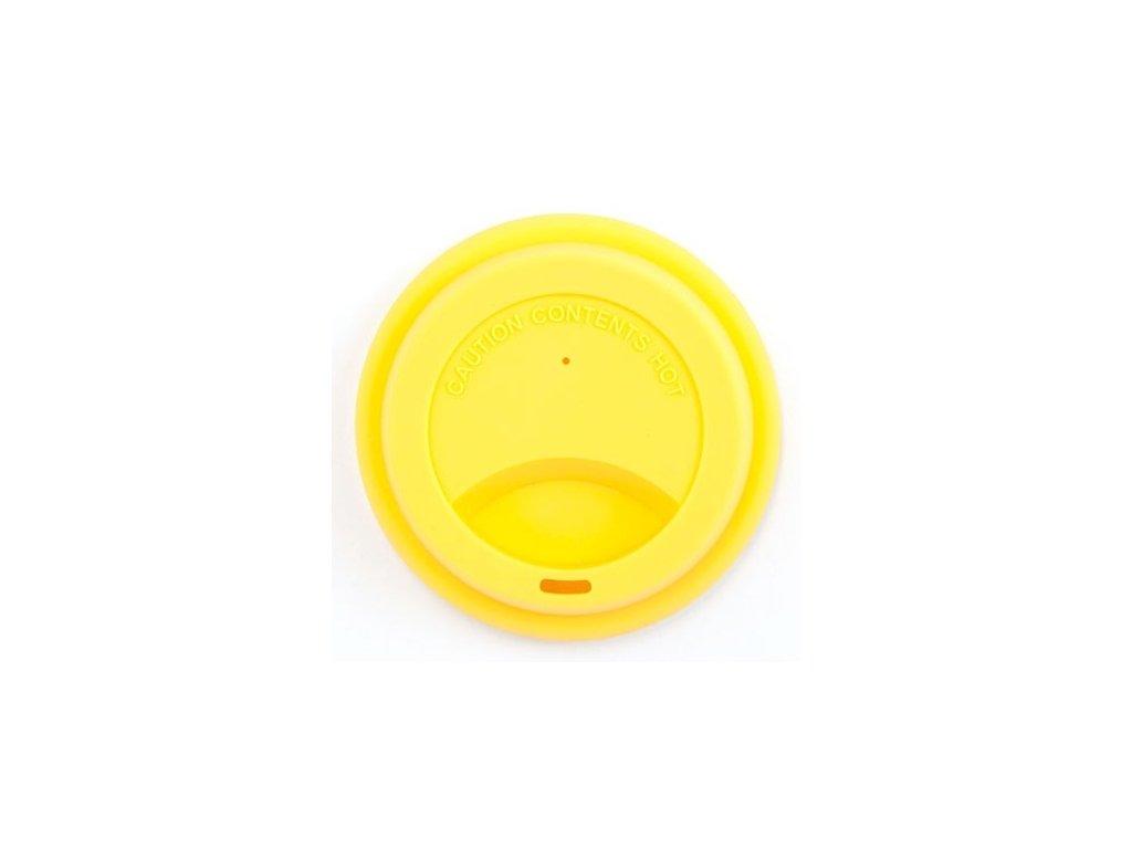 Silikonové víčko žluté