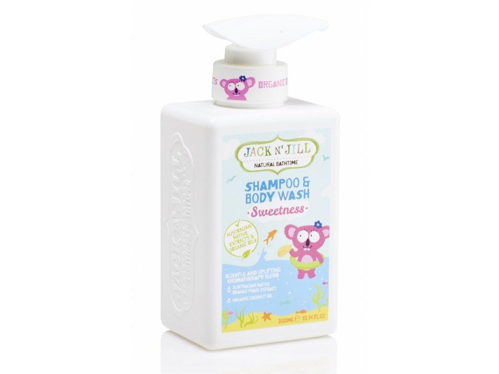 SWEETNESS šampon a sprchový gel / 300ml