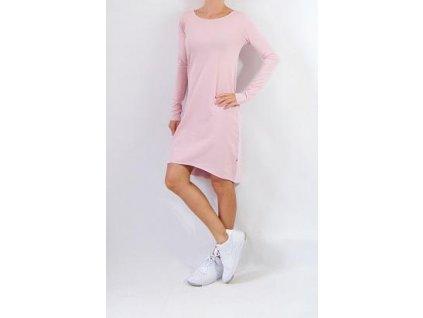 Šaty BASIC - dlouhý rukáv