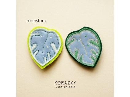 08 monstera sv zelená