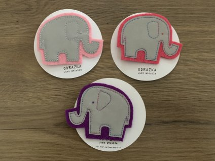 Odrazka - slon