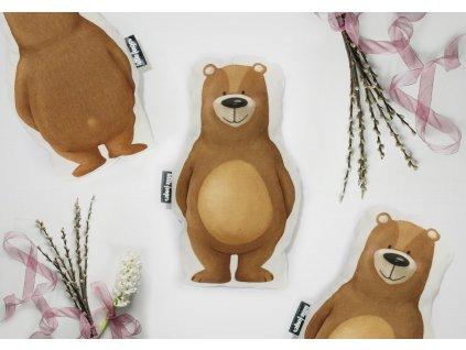 Medvědí polštářek pro nejmenší