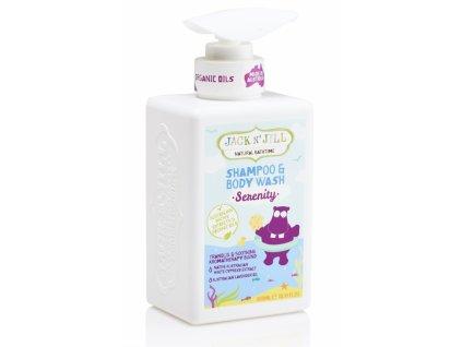 SERENITY šampon a sprchový gel / 300ml