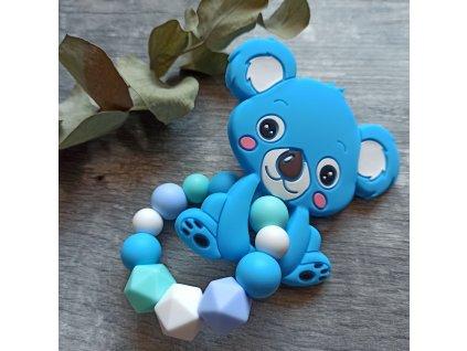Kousátko velké na kroužku  - Koala modrá