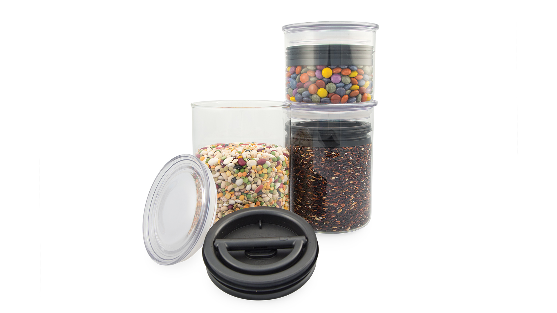 Dózy Airscape Glass na potraviny