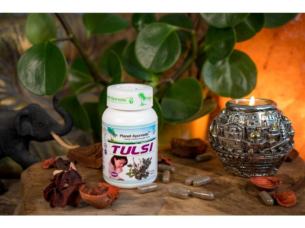 Planet Ayurveda Tulsi capsules