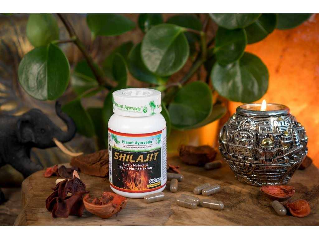 Planet Ayurveda Shilajit capsules