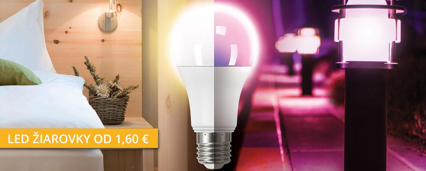 Široká ponuka LED žiaroviek