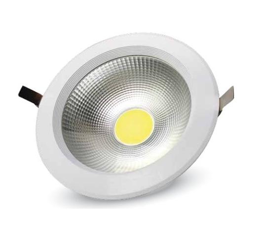 LED COB zapustené svietidlá