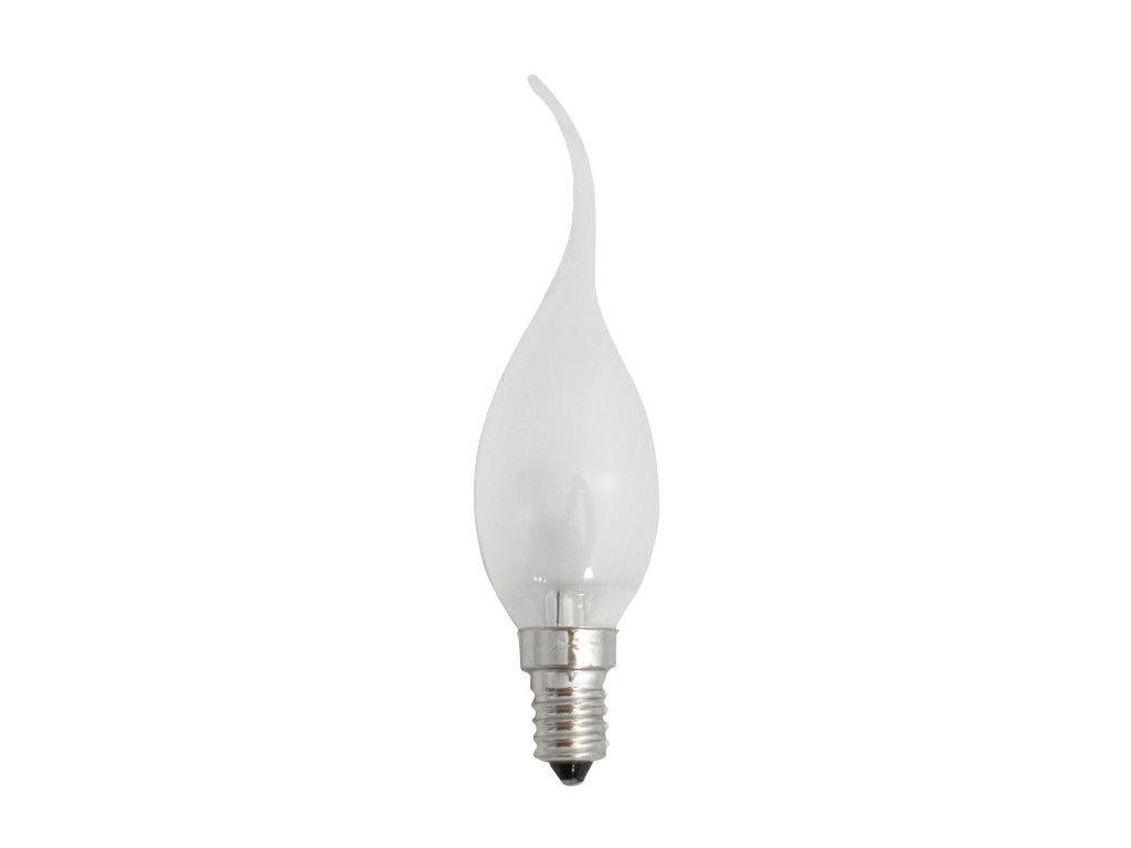 Žiarovka 230V 60W E14 FD2172 sviečka plameň 35x130mm
