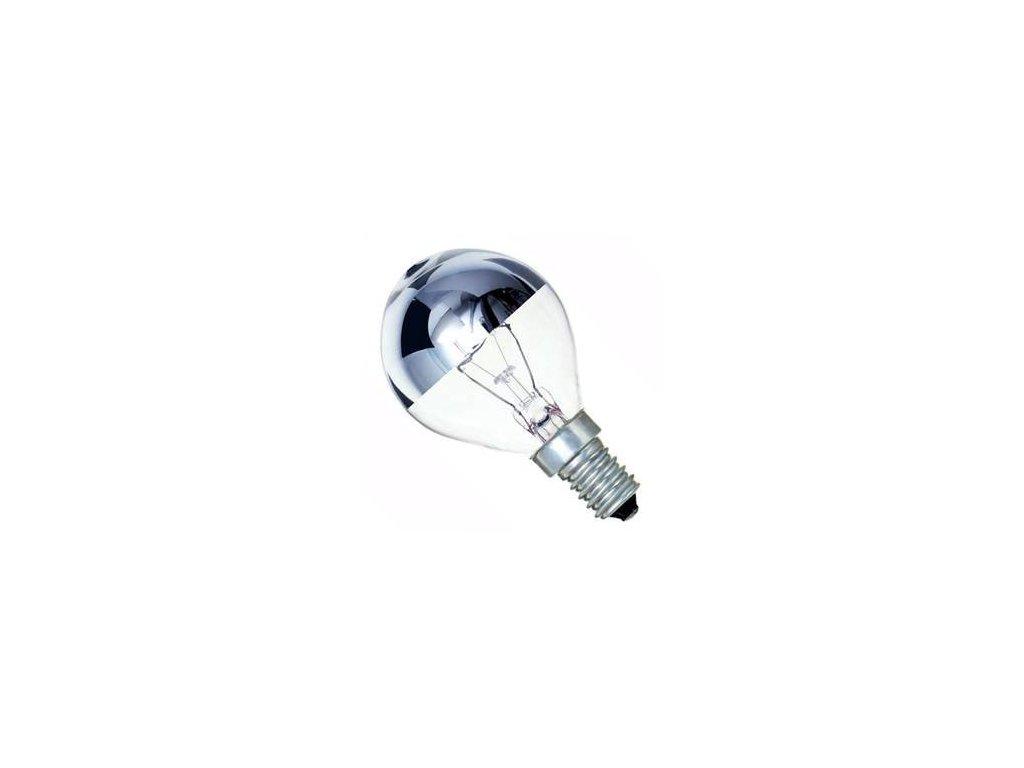 Žiarovka 240V 40W E14 RF 2412 zrkadlo-strieborná 46x82mm
