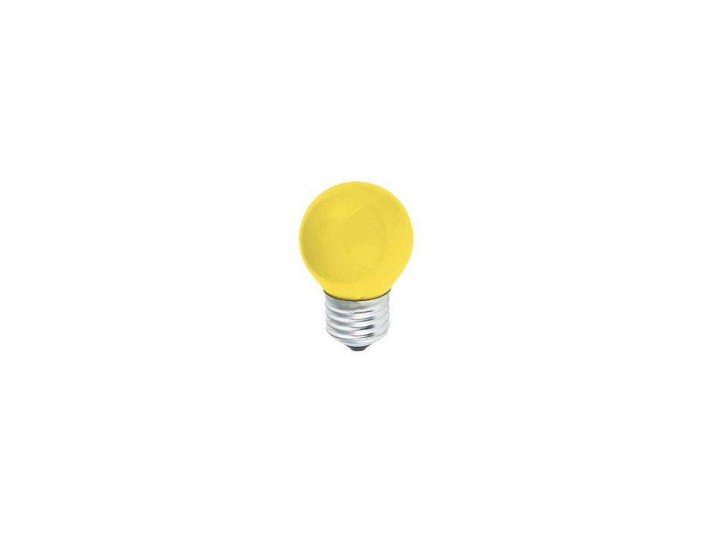Žiarovka 230V 15W E27 žltá malá 45x70mm