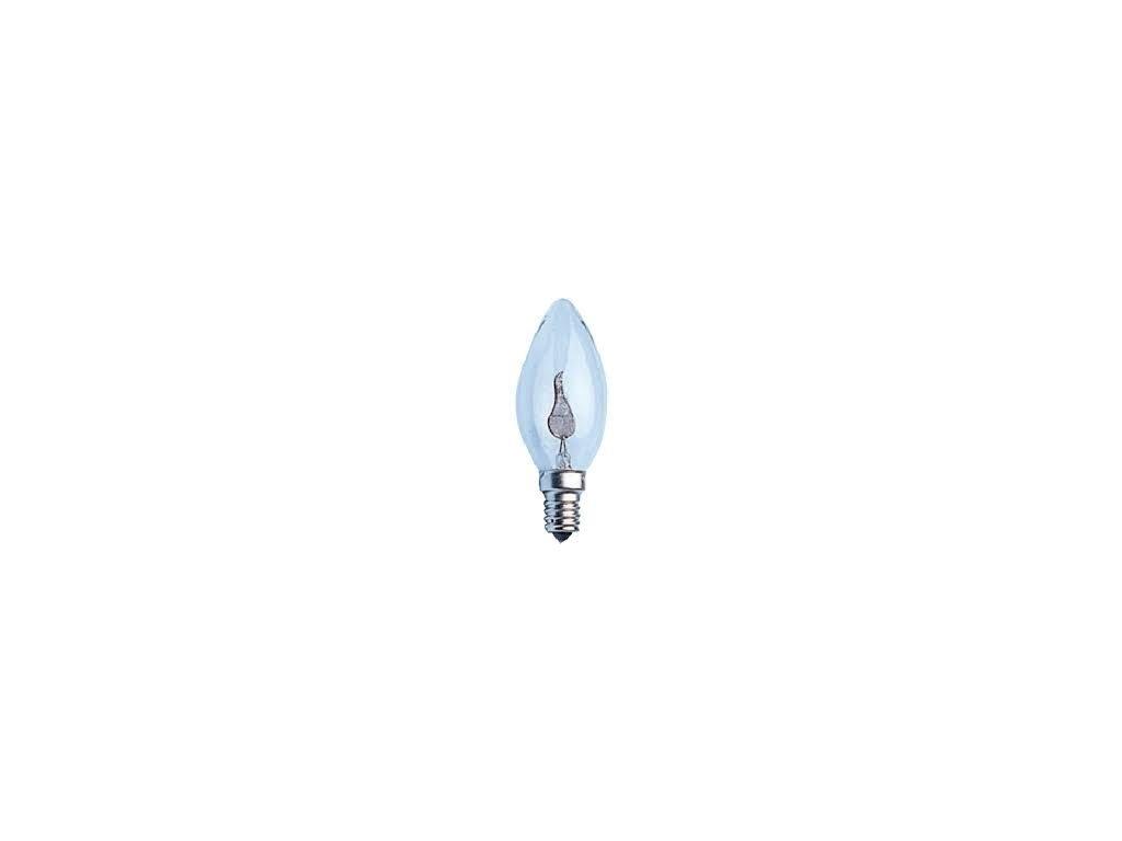 ziarovka 230v 3w e14 plamen 35x95mm i17430