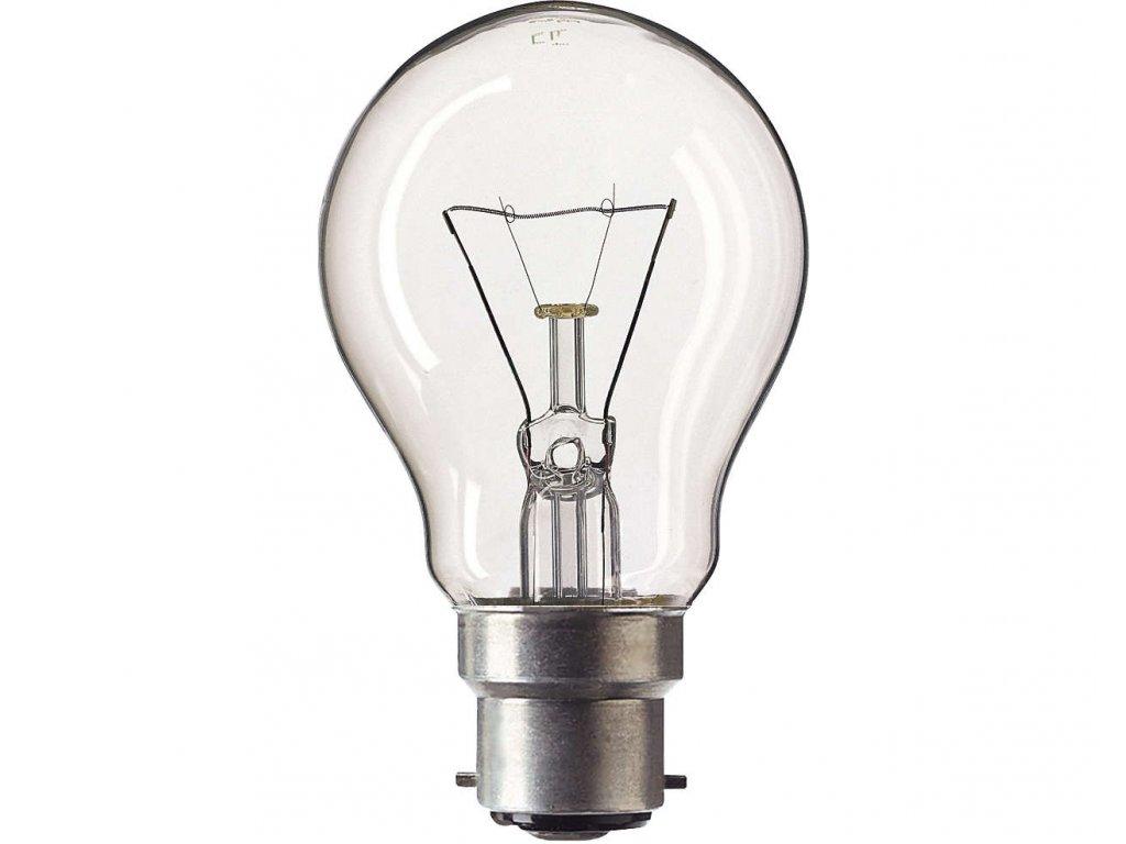 Žiarovka 230V 60W B22D ST4272 300st rúra 60x103mm
