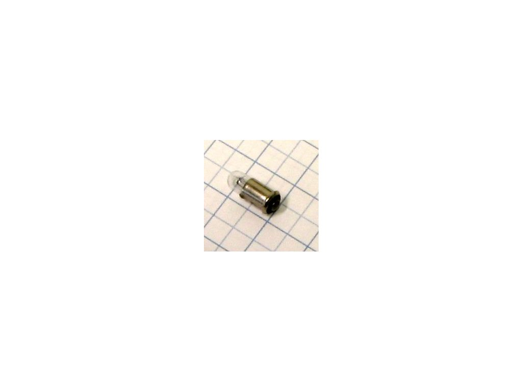 Žiarovka 6V 40mA MS4 MS8660