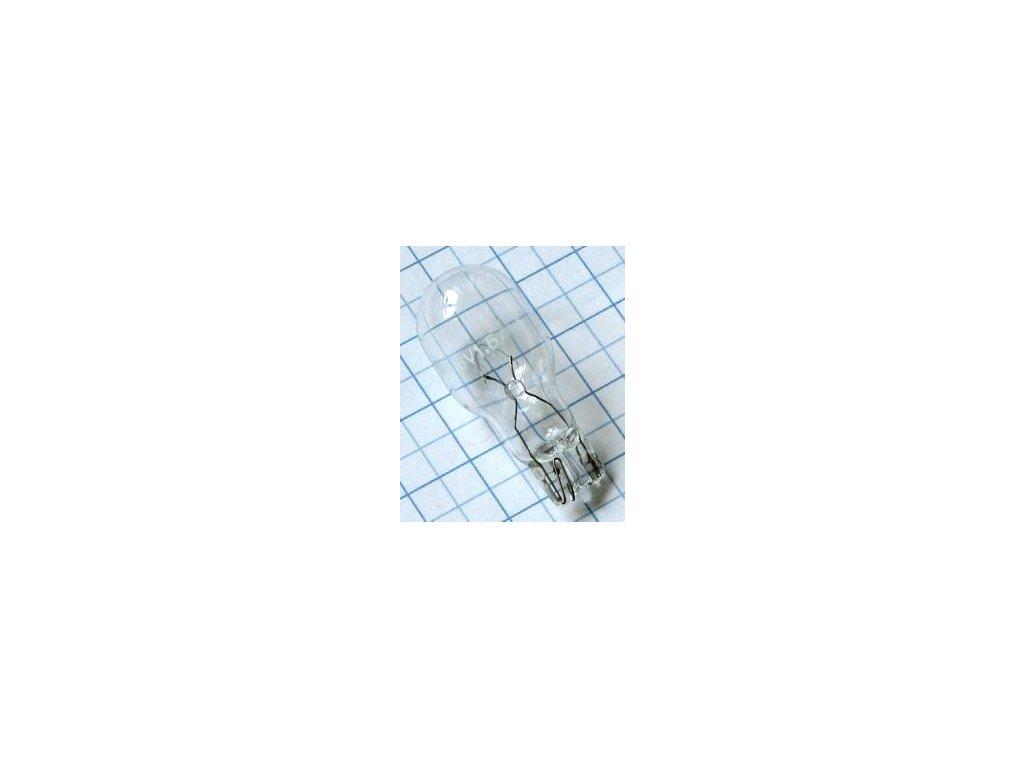 Žiarovka 6V 1500mA  W908 celosklenená 16x39mm