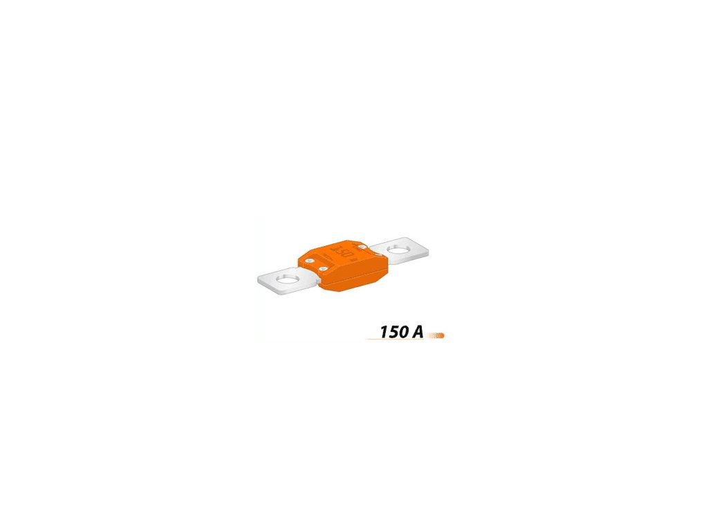 Poistka MEGA 50,8mm- 150A - oranžová