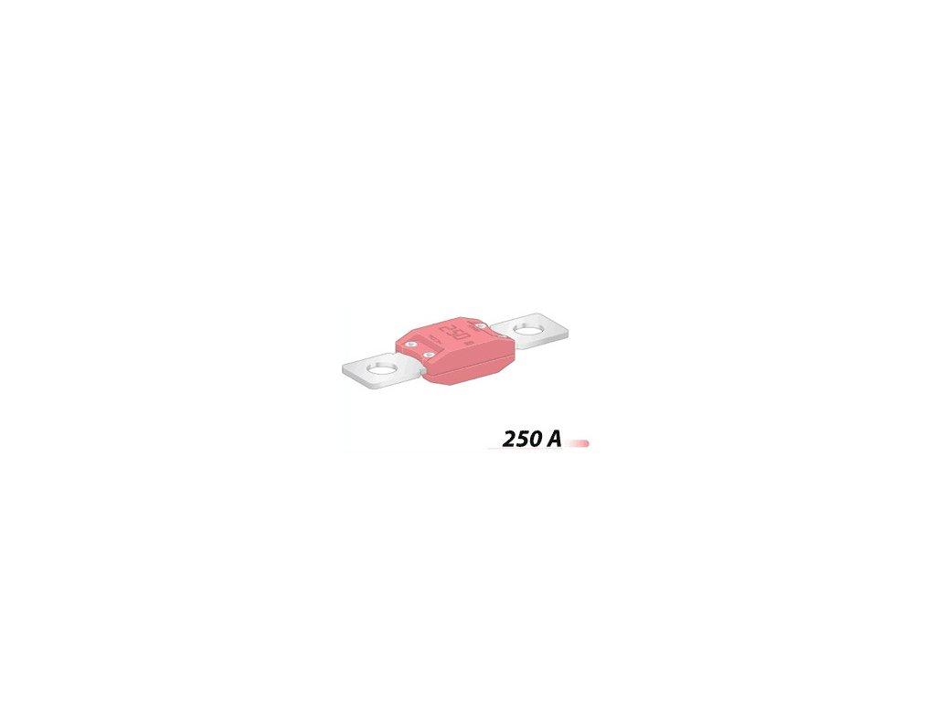 Poistka MEGA 50,8mm- 250A -ružová