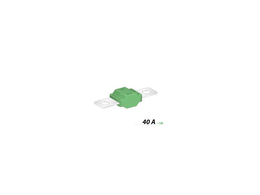 Poistka MIDI 30mm- 40A - zelená