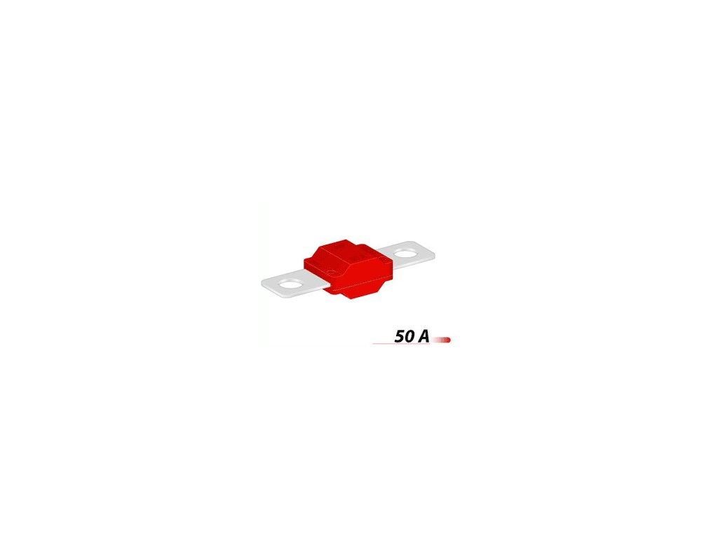 Poistka MIDI 30mm- 50A - červená