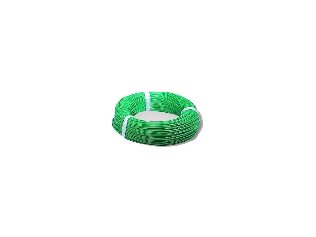 Autokábel 1,5  CYA zelený
