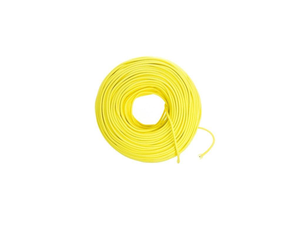 Autokábel 1,5  CYA žltý