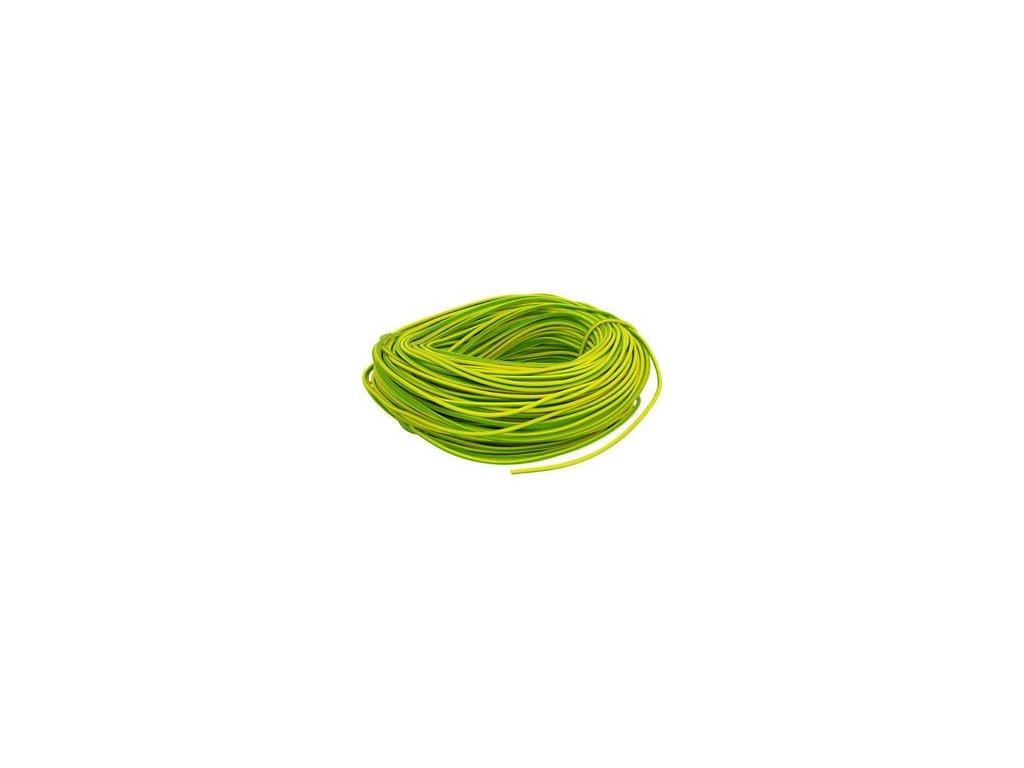 Autokábel 1,5  CYA zelenožltý