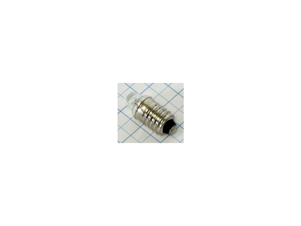 Žiarovka 3,7V 300mA E10 E3644 šošovka 10x24mm