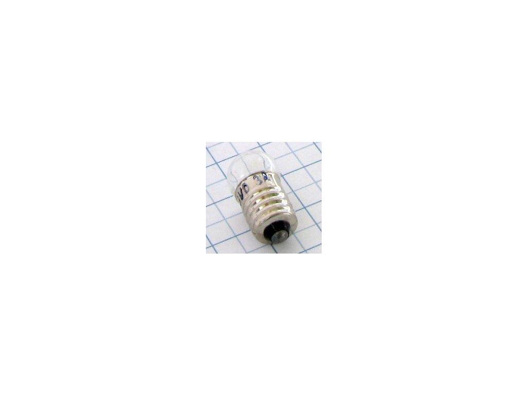 Žiarovka 12V 250mA E10 E3894 9x23mm