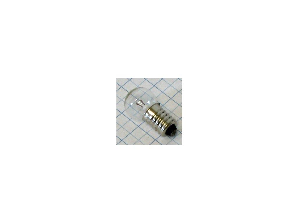 Žiarovka 6V 6W E10 E418 kryptón 17x30mm