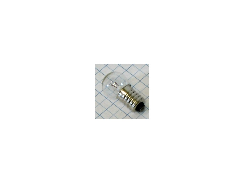 Žiarovka 4V 0,8A E10 E5954 kryptón 15x29mm